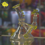 Charli Glass Illuminati Accented Mini-Beaker - 710 Vapors