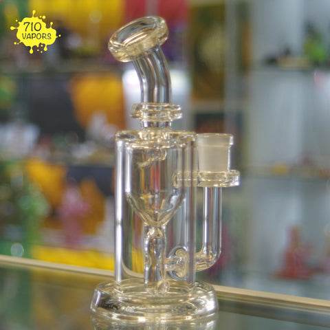 Clear Incycler by Leisure Glass - 710 Vapors