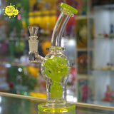 Fatboy Glass Slyme Etched Perc Fab Egg Rig - 710 Vapors