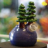 "Gregory Paul Scheyer Mini Tube from the Series ""Trees on My my Mind"" - 710 Vapors"