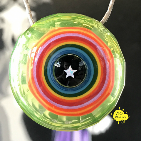 Lodi Glass Faceted Encalmo Pendant