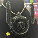 Box Fan Glass Crushed Opal Star Trip Cap/Pendant - 710 Vapors