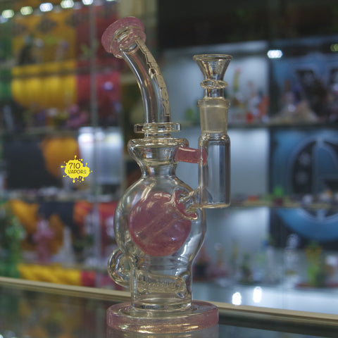 Pink Ball Rig Fatboy Glass