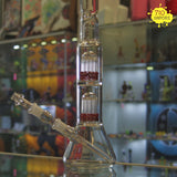 RoorTech Beaker Bottom Double Rock Candy Tree Perc Tube