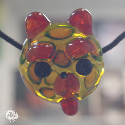 Spotted Heady Teddy Pendant By Shurlock Holmes - 710 Vapors