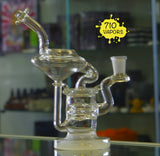Trinity Glass Knowers Synergy Perc Recycler - 710 Vapors