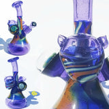 Hurley Glass Galaxy Fumed Marble Rig - 710 Vapors