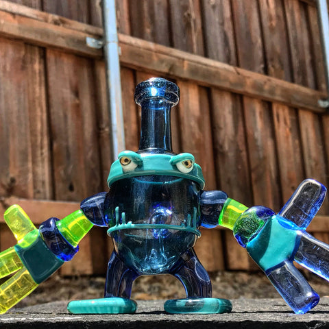Snoop Glass Robo Banger Hanger - 710 Vapors