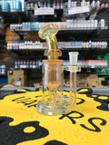 Leisure Glass Fumed Mini Incycler - 710 Vapors