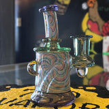 710 Glass x Luke Wilson CFL and Rainbow Retticello Micro Tube - 710 Vapors