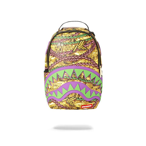 Sprayground Limited edition backpack New Orleans ALVIN KAMARA BACKPACK - 710 Vapors