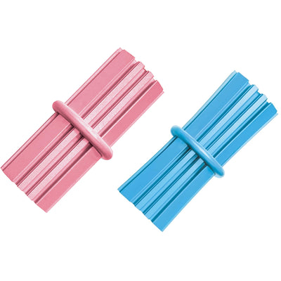 KONG Puppy Teething Stick Small (8cm) Blue/Pink