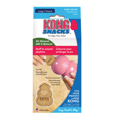 KONG Snacks Puppy Large 312g