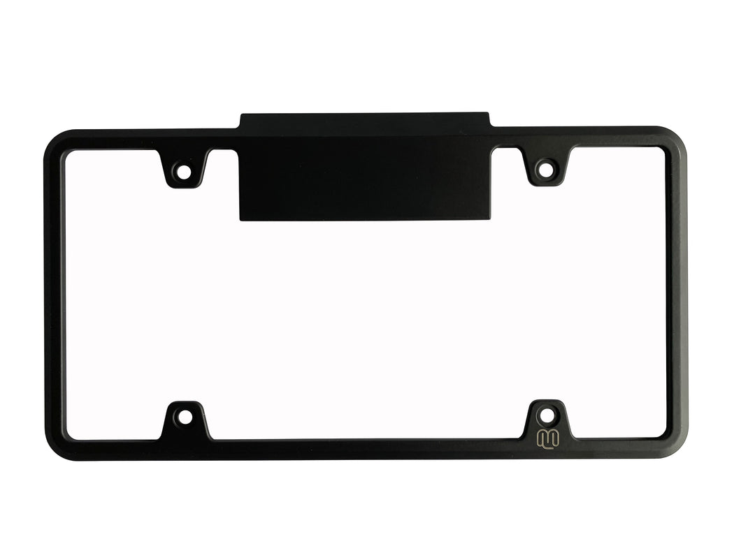 Tesla Model Y / Model 3 BC HOV License Plate Frame - Black (Matte or Gloss)