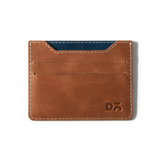 Cider Brown SkinnyFit Leather Card Wallet - Chamlooks