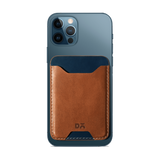 Cider Brown CardSafe Leather Phone Wallet - Chamlooks
