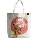 Girls Run The World Basic Tote Bag - Chamlooks