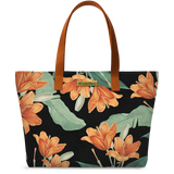 Midnight Hibiscus Fatty Tote Bag - Chamlooks