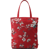 Red Butterflies Basic Tote Bag - Chamlooks