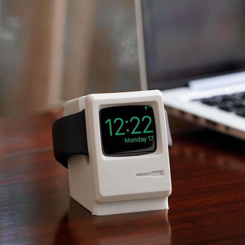 Retro PC- Apple Watch Stand (Off White) - Chamlooks