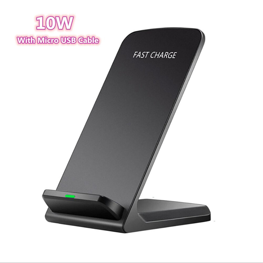 FDGAO 15W 2 in 1 Qi Wireless Charger Stand