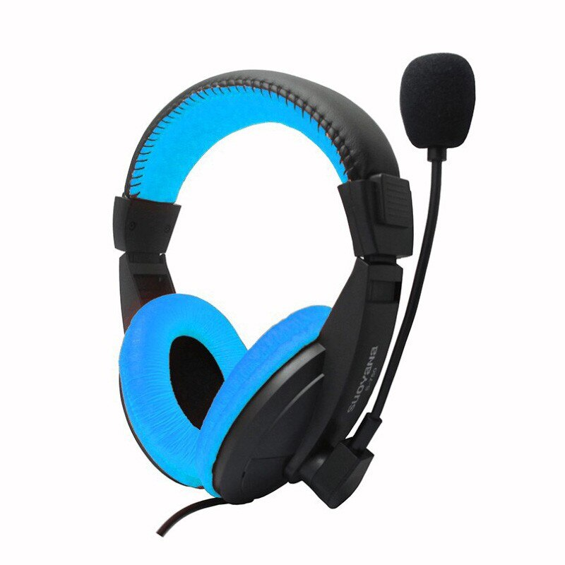S750 Stereo Bass Surround Wired Gaming Headset w/mic