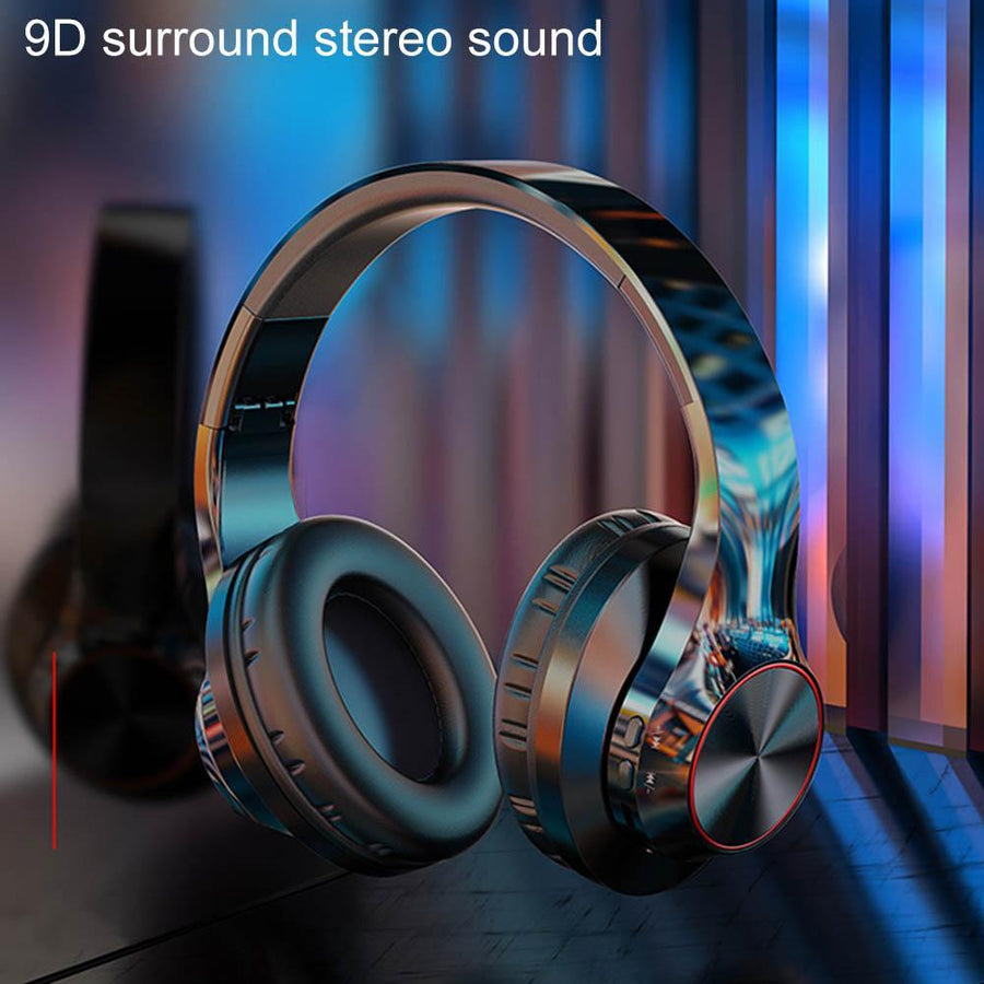 A11 Bluetooth V5.0 Wireless Over-ear, 9D Surround, HiFi, Noise Cancelling Gaming Headset w/Mic - Audio Dynamiks