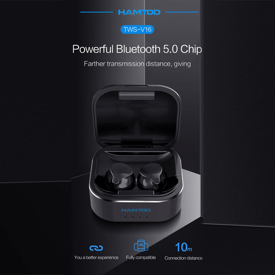Comfortable Mini True Wireless Touch Control Dynamic Vocalism Earbuds