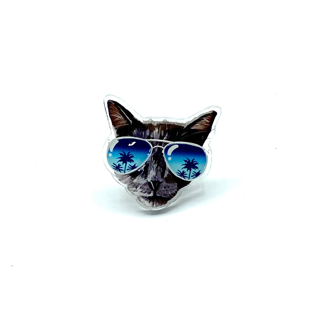 Dope Cat Lady Pin