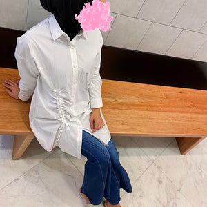 Side Elastic Blouse
