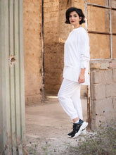 Load image into Gallery viewer, White Tracksuit | Jogger Set