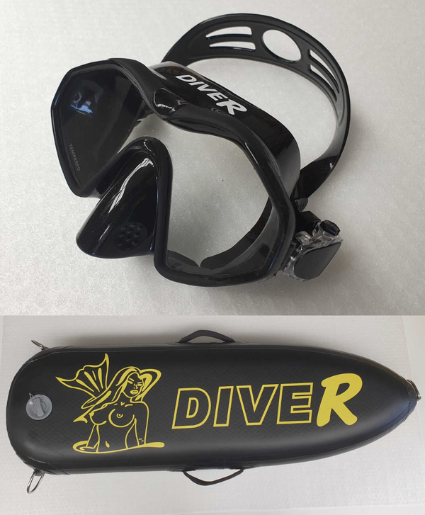 DiveR Mask + Spear Float (45L)