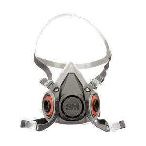 3M Half Face Reusable Respirator with 2 P100 filters