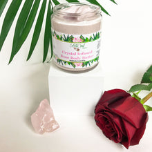 Load image into Gallery viewer, Crystal Infused Rose Body Butter