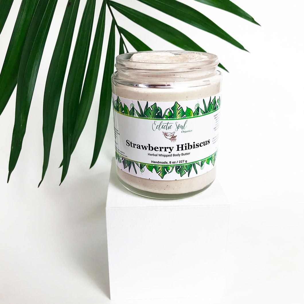 Strawberry Hibiscus Whipped Body Butter