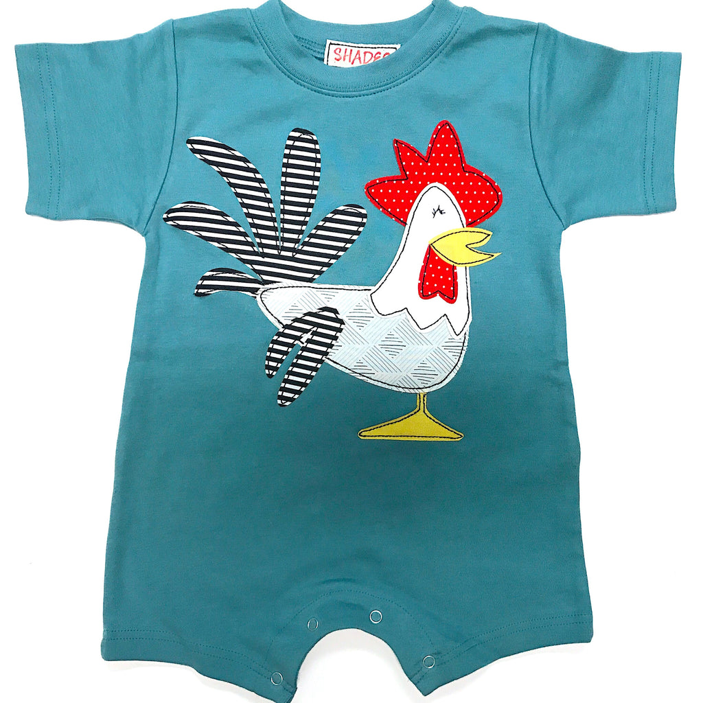Rooster Romper