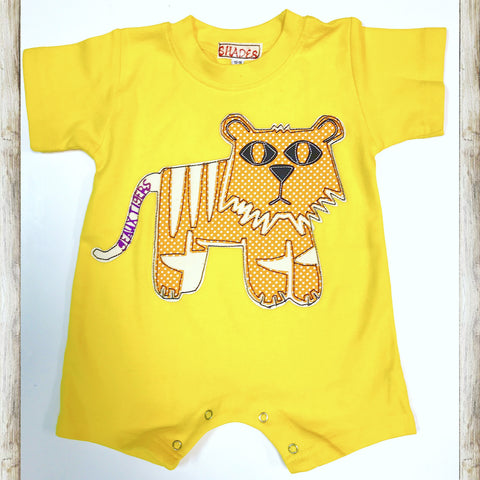 Golden Tiger Romper