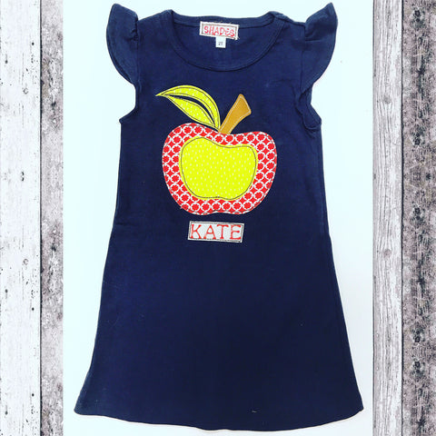 Apple Flutter Dress