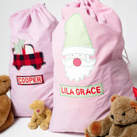 **LIMITED** Personalized Santa Bags