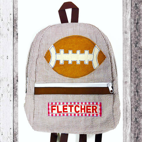 Football Luggage Collection - Brown