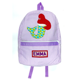Mermaid Luggage Collection - Purple