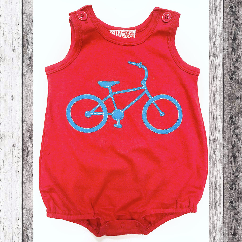 Red Knit Bicycle Bubble