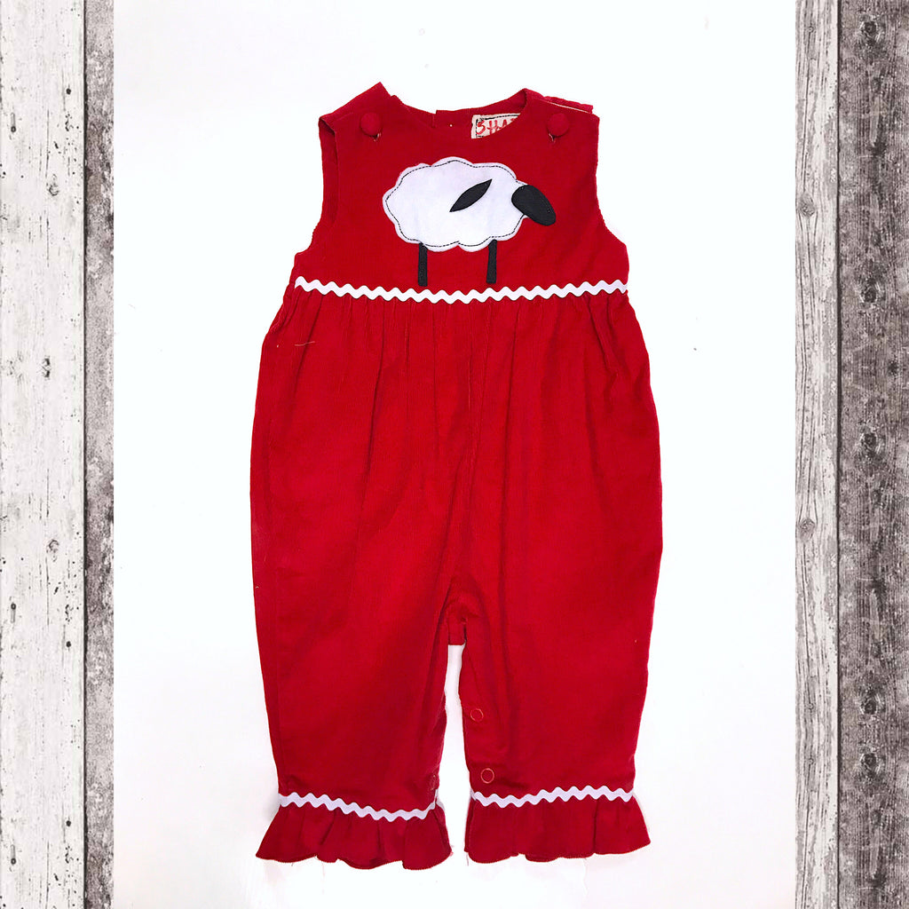 Sheep Ruffle Romper