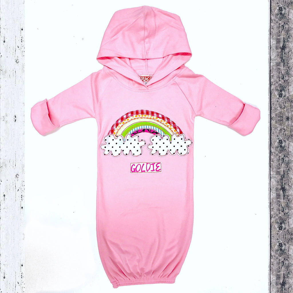 Rainbow Baby Gown