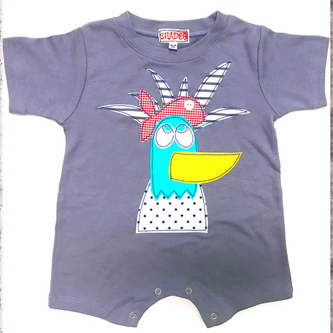 Beach Bird Romper