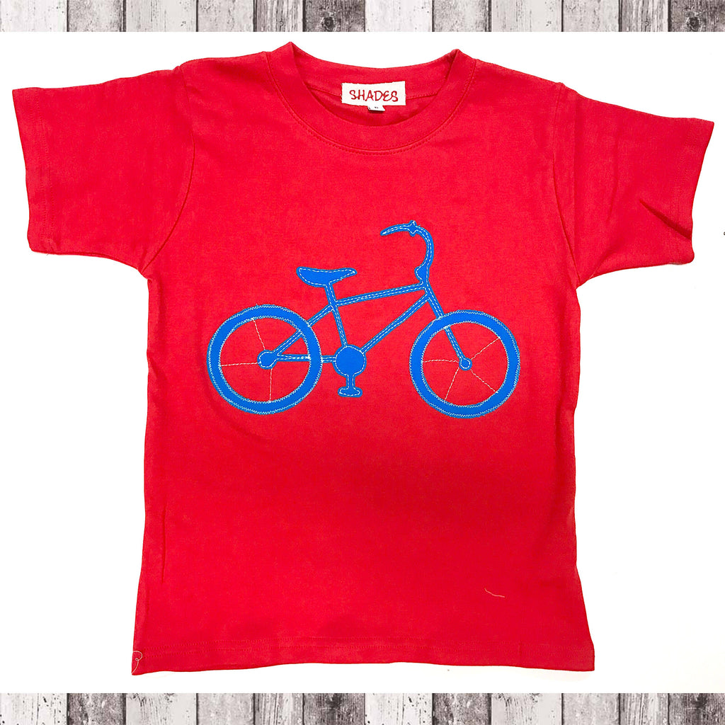 Red Bicycle Tee