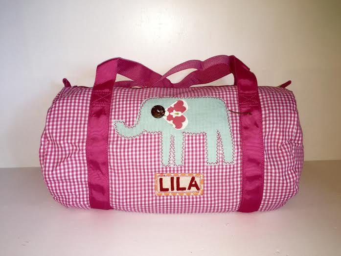 Elephant Luggage Collection - Hot Pink