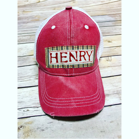 ***NEW***Personalized Youth Trucker Hat