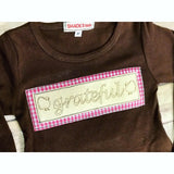 Grateful Dress (Chocolate/Pink)