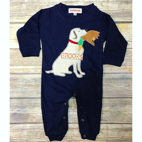 Duck Hunting Romper